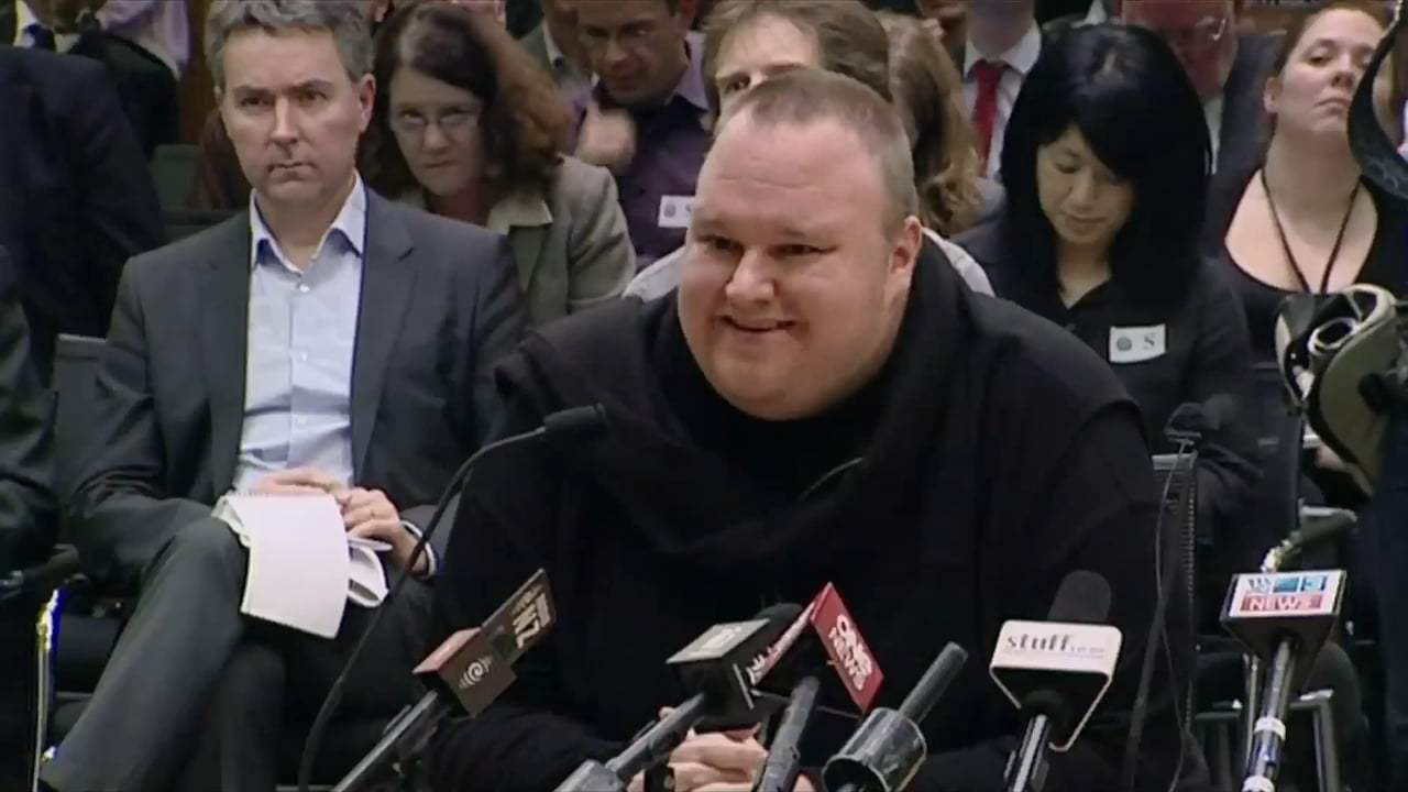 Kim Dotcom: Caught in the Web Trailer (2017)