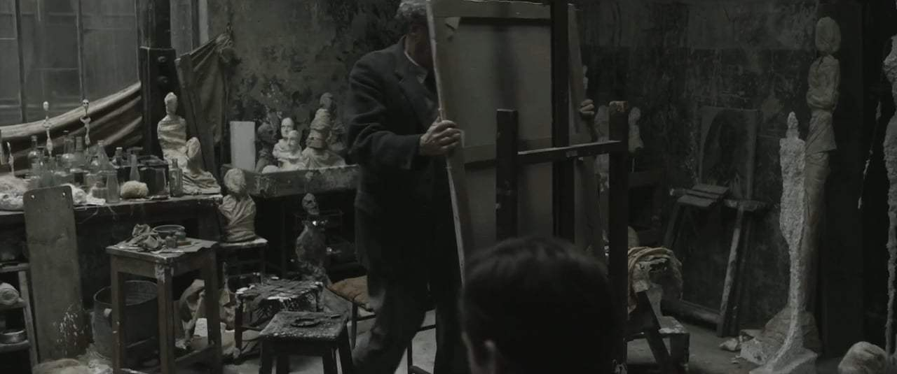 Final Portrait (2017) - Sitting for Giacometti