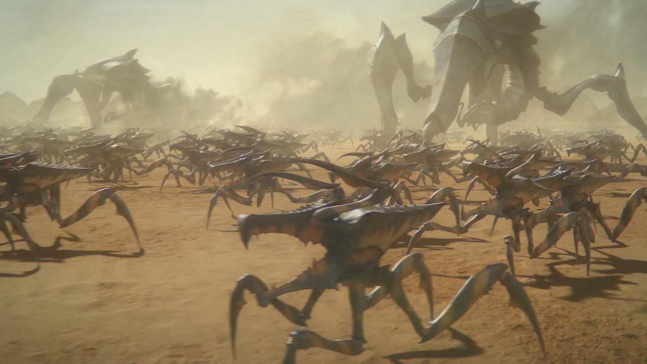 Starship Troopers: Traitor of Mars Director's Trailer (2017)
