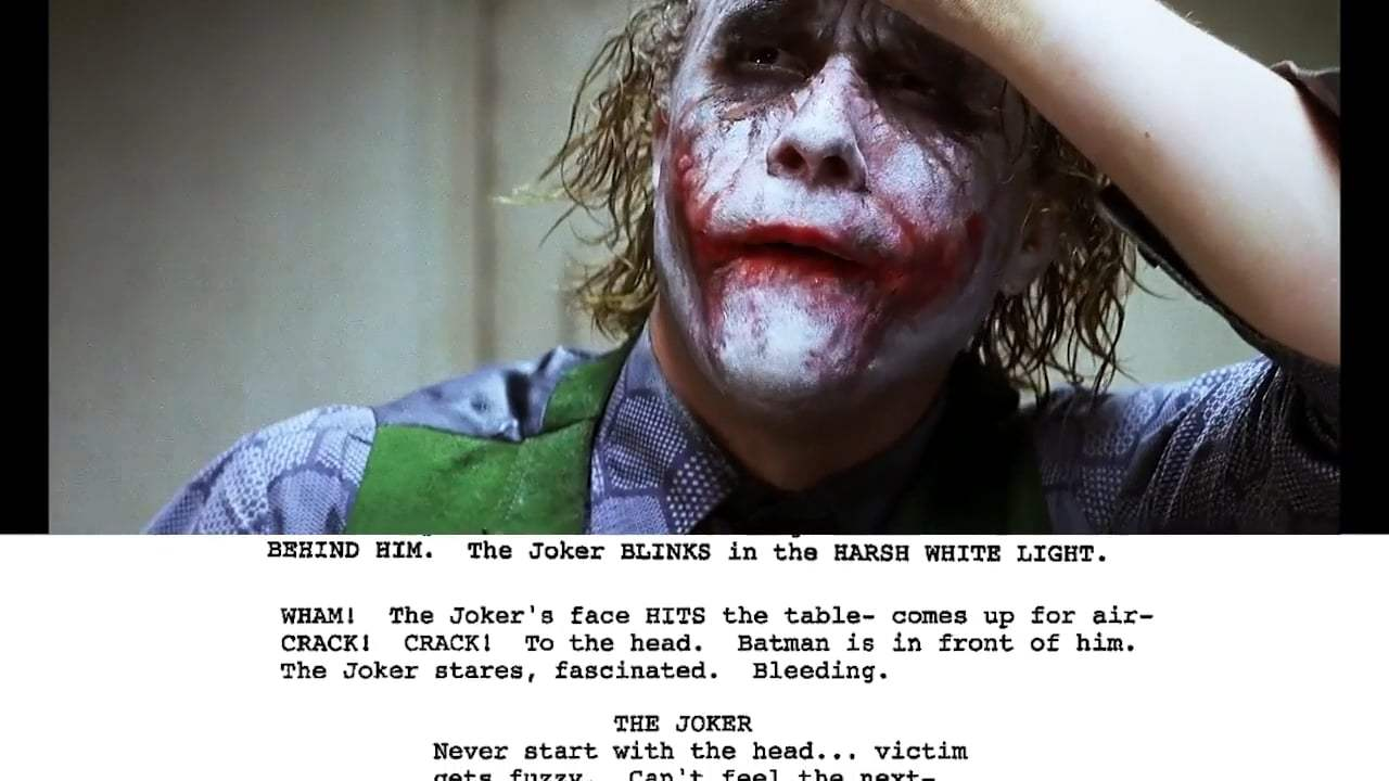 The Dark Knight Featurette - From Script to Screen: The Joker Interrogation Scene (2008)