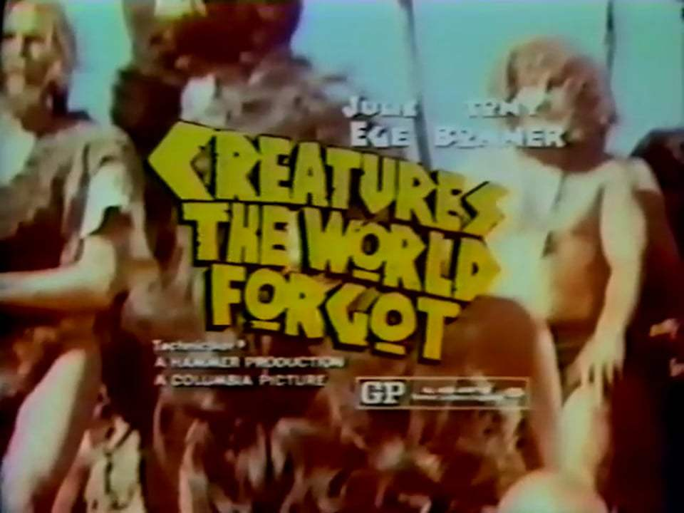 Creatures the World Forgot Teaser Trailer (1971)