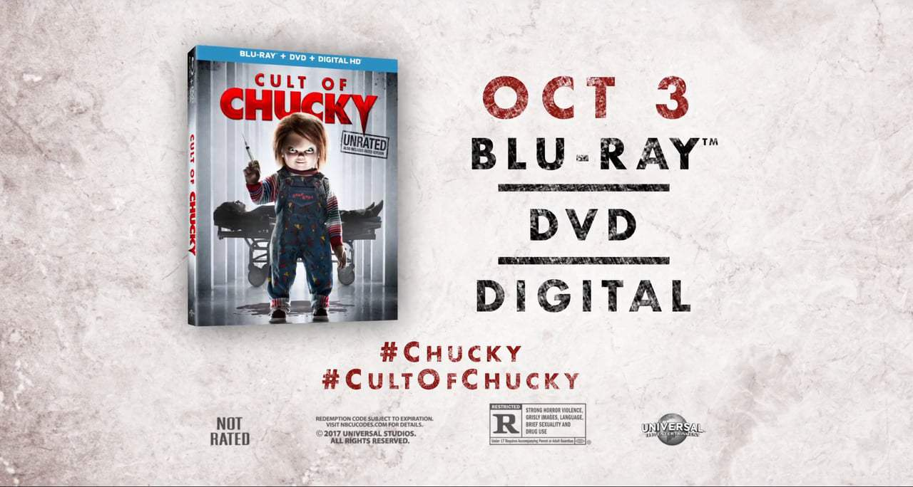 Cult of Chucky TV Spot - Own It (2017)