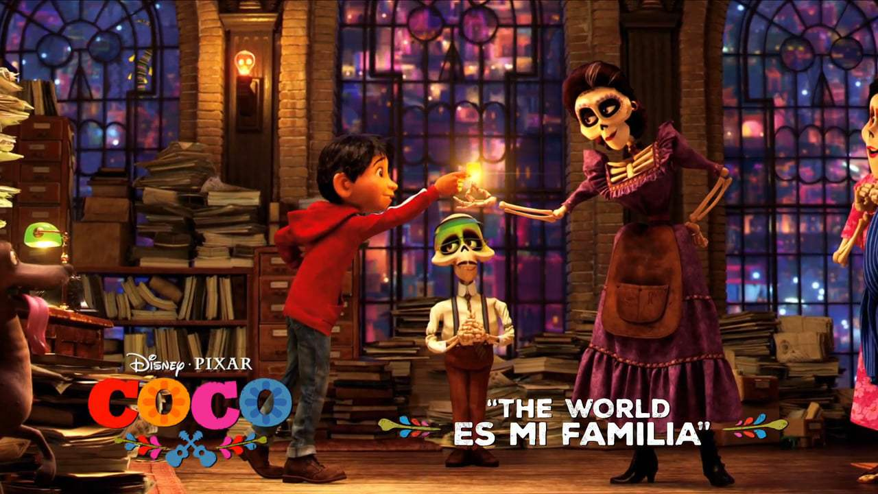 Coco TV Spot - The World Es Mi Familia (2017)