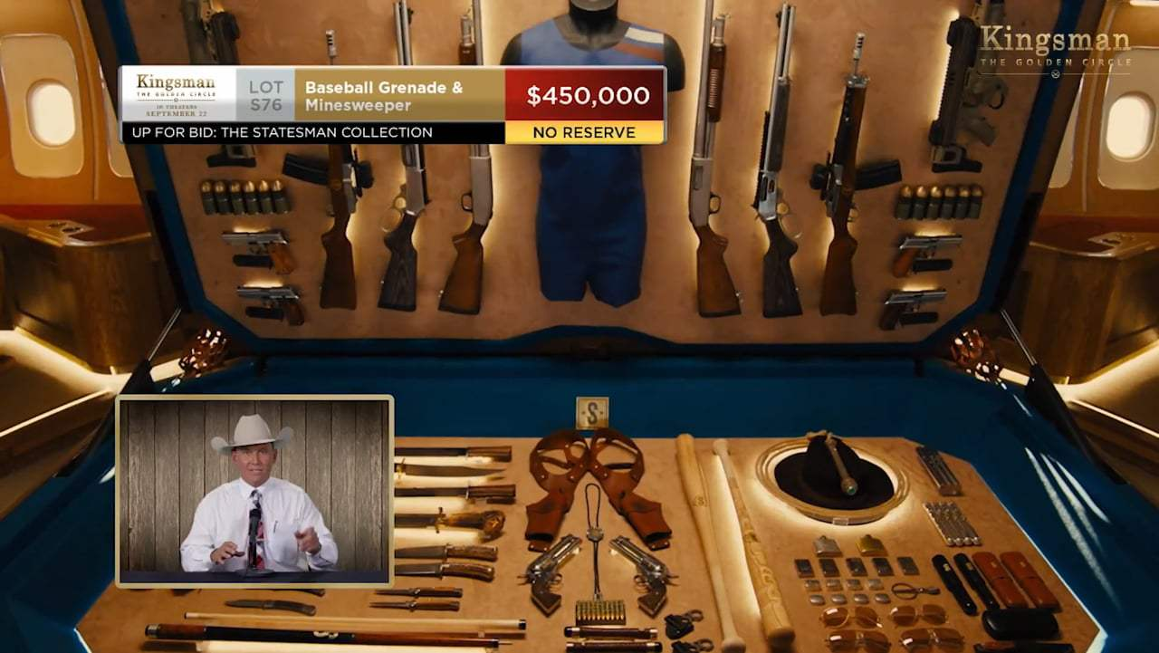 Kingsman: The Golden Circle TV Spot - Kentucky Auctioneer (2017)
