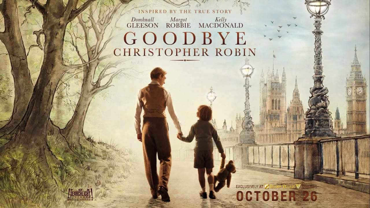 Goodbye Christopher Robin Featurette - A.A. Milne (2017)