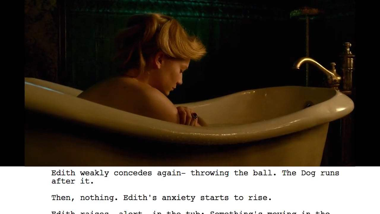 Crimson Peak Featurette - From Script to Screen: Bath Scene (2015)