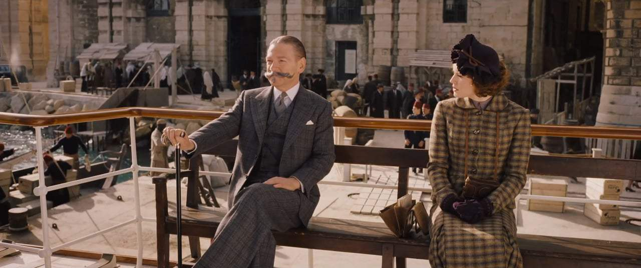 Murder on the Orient Express (2017) - I Know Your Mustache