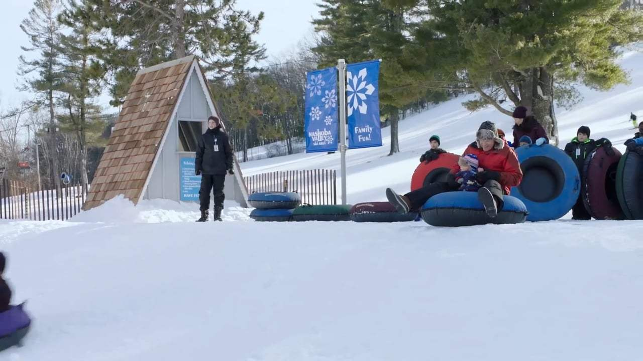 Daddy's Home 2 (2017) - Snow Tubing