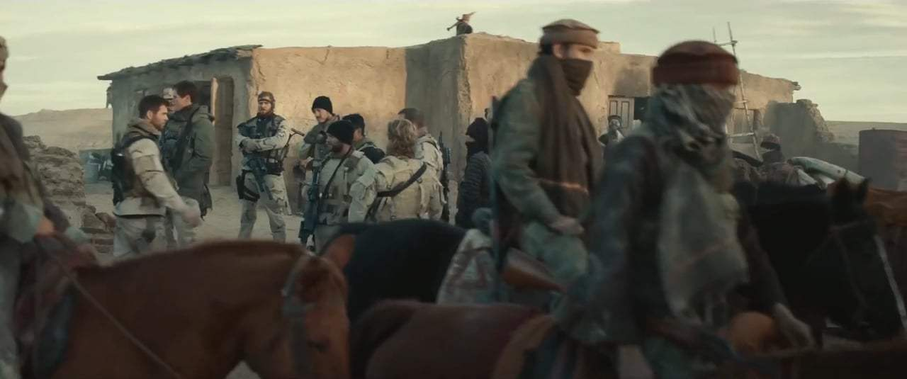 12 Strong Feature Trailer (2018)
