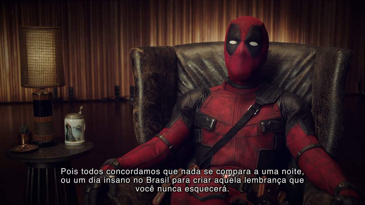 Deadpool 2 Viral - Brazil Comic Con Tattoos (2018)
