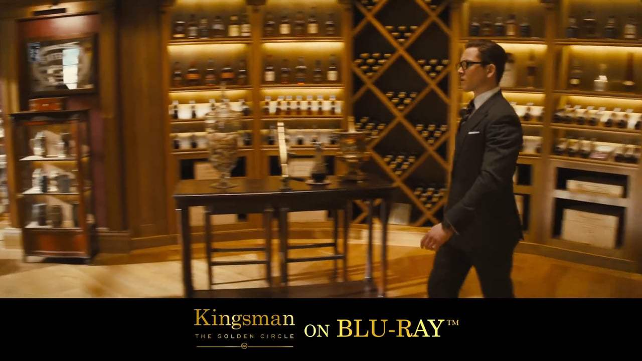 Kingsman: The Golden Circle TV Spot - James Bond On Laughing Gas (2017)