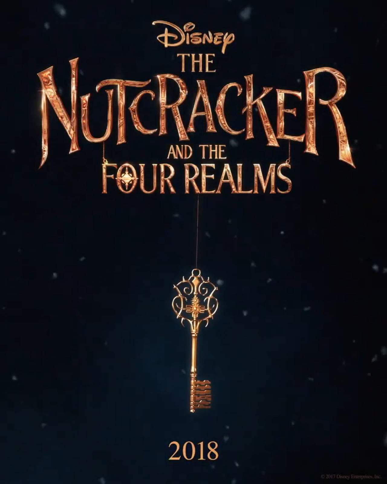 The Nutcracker and the Four Realms Motion Poster (2018)