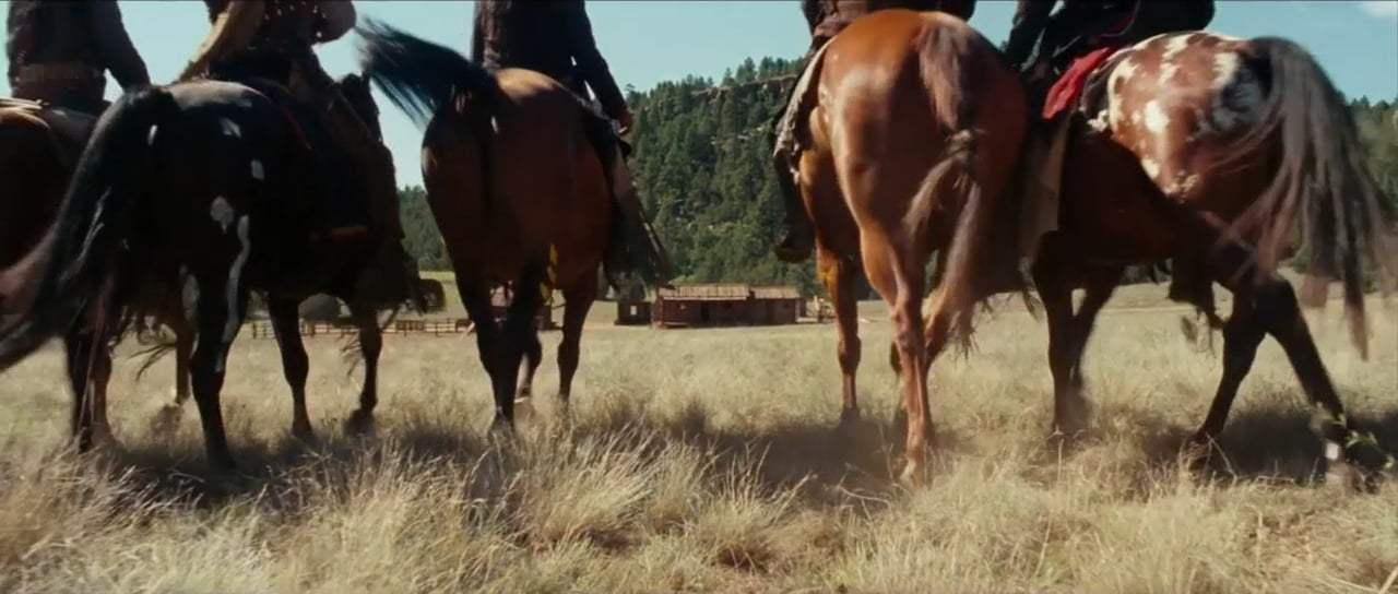 Hostiles (2018) - The Cabin Attack