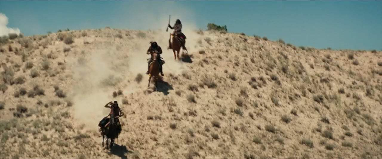 Hostiles (2018) - Commanche Attack