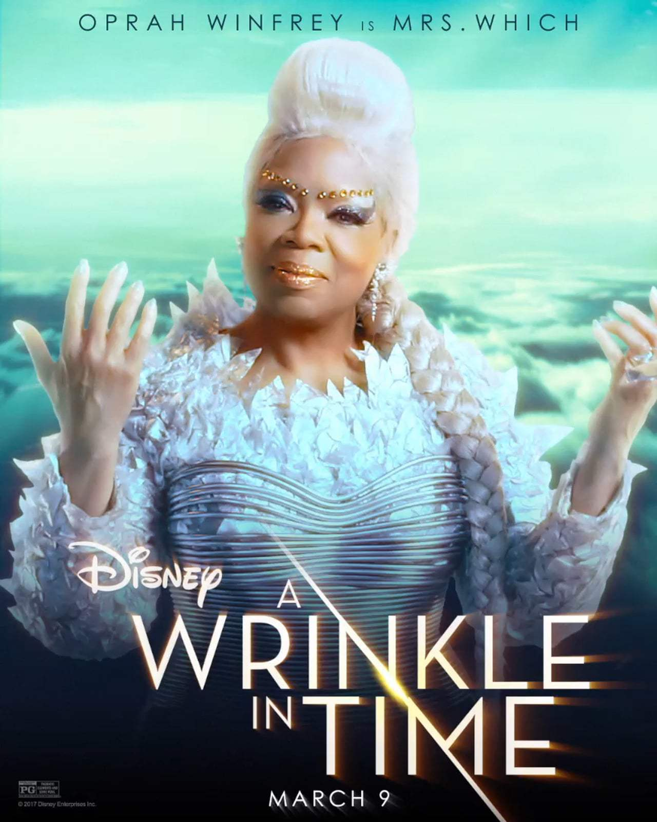 A Wrinkle in Time Motion Poster - Mrs. Which (2018)
