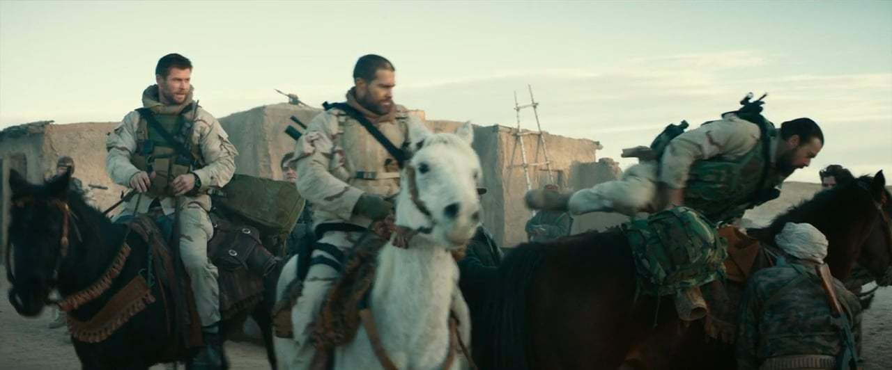 12 Strong (2018) - Who's Ridden Before?