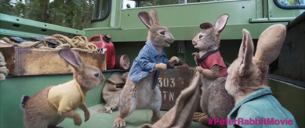 Peter Rabbit (2018) - Wet Willy