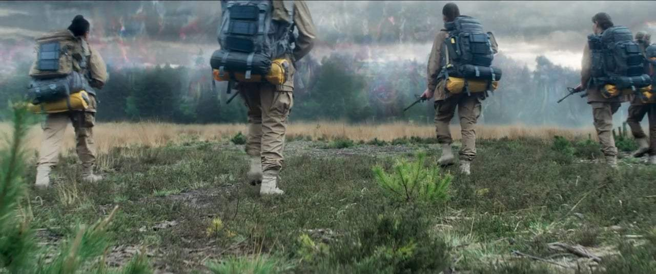 Annihilation (2018) - Entering the Shimmer