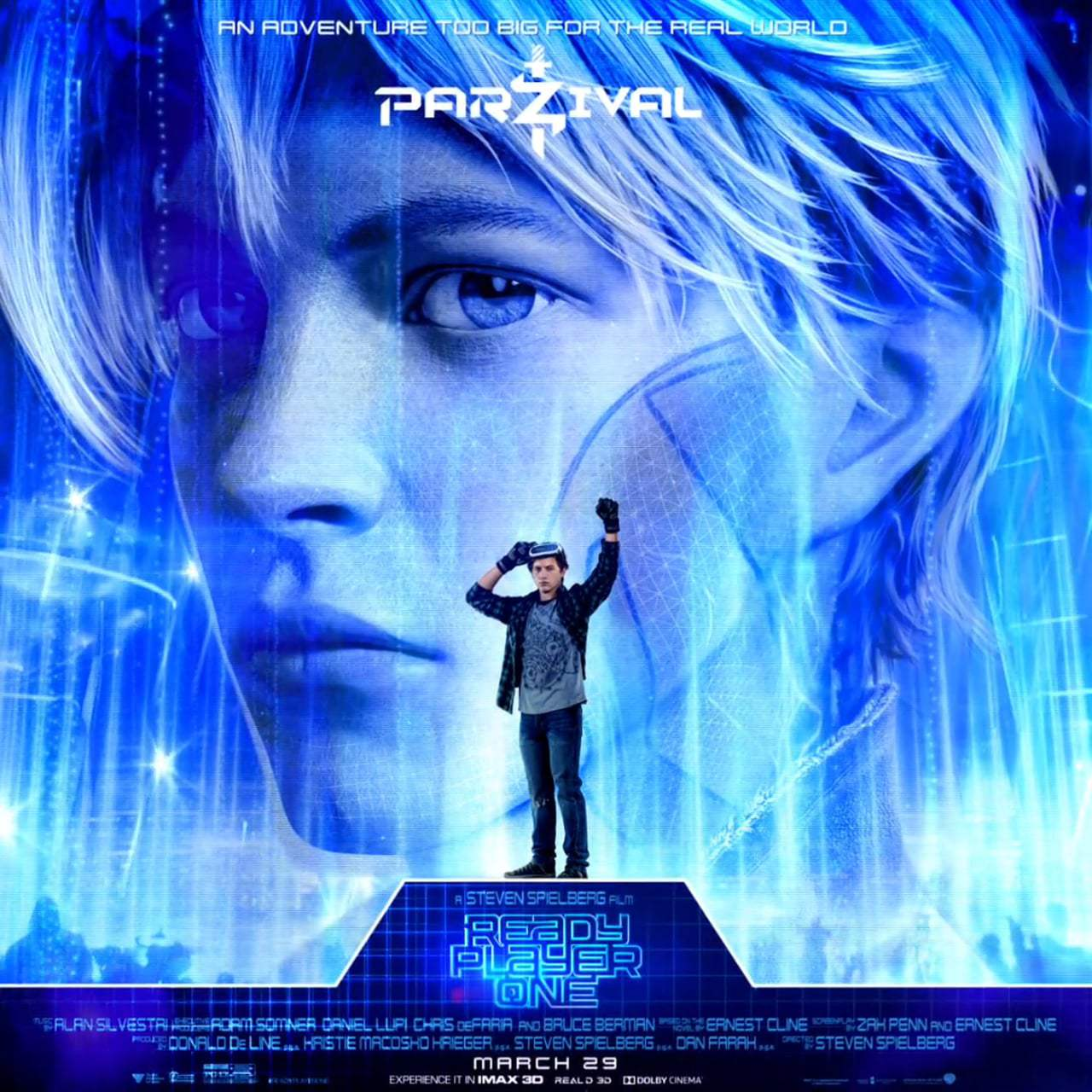 Ready Player One Character Motion Posters (2018)