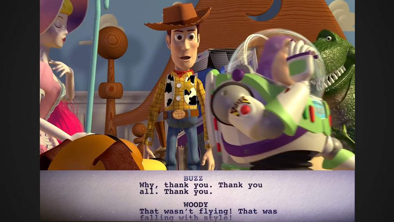 Toy Story Featurette - From Script to Screen: Can Fly (1995)
