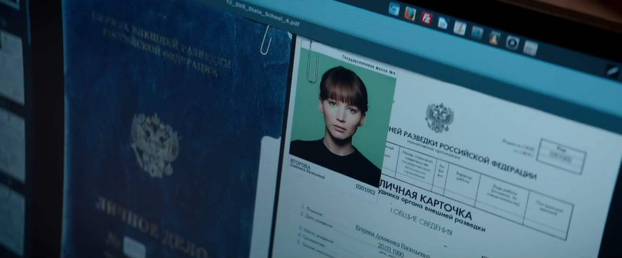 Red Sparrow TV Spot - The Ride Won't Stop (2018)