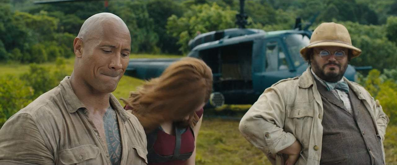 Jumanji: Welcome to the Jungle Featurette - Blooper Reel (2017)