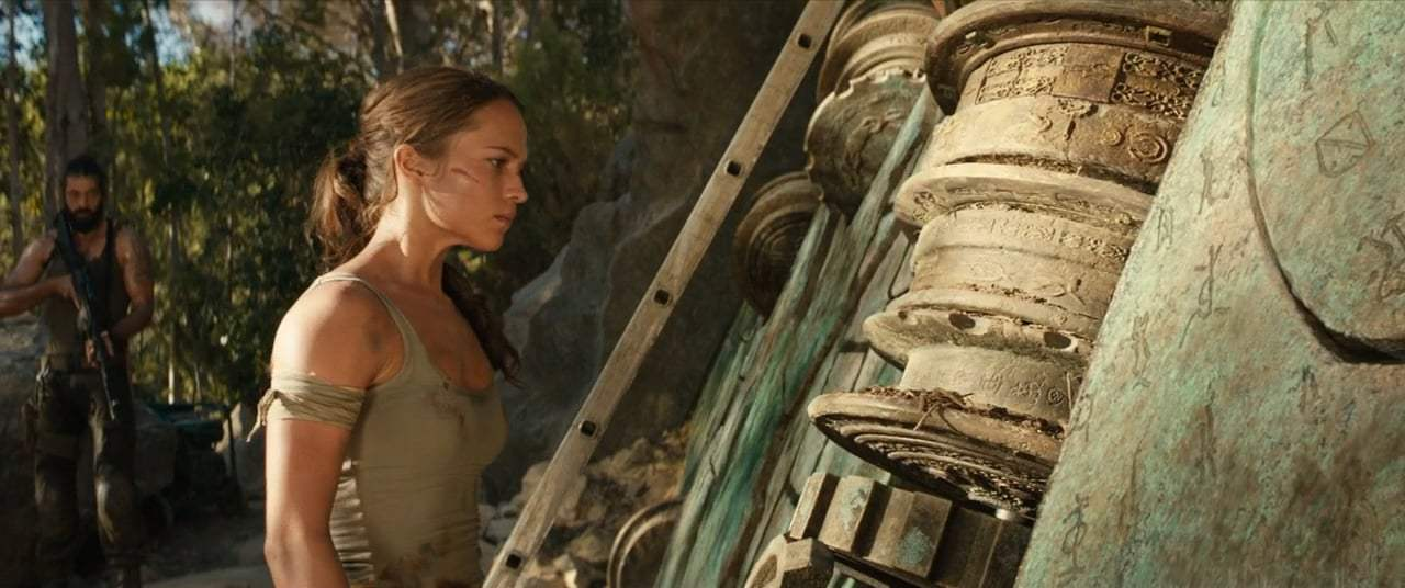 Tomb Raider 2018 Puzzle Door
