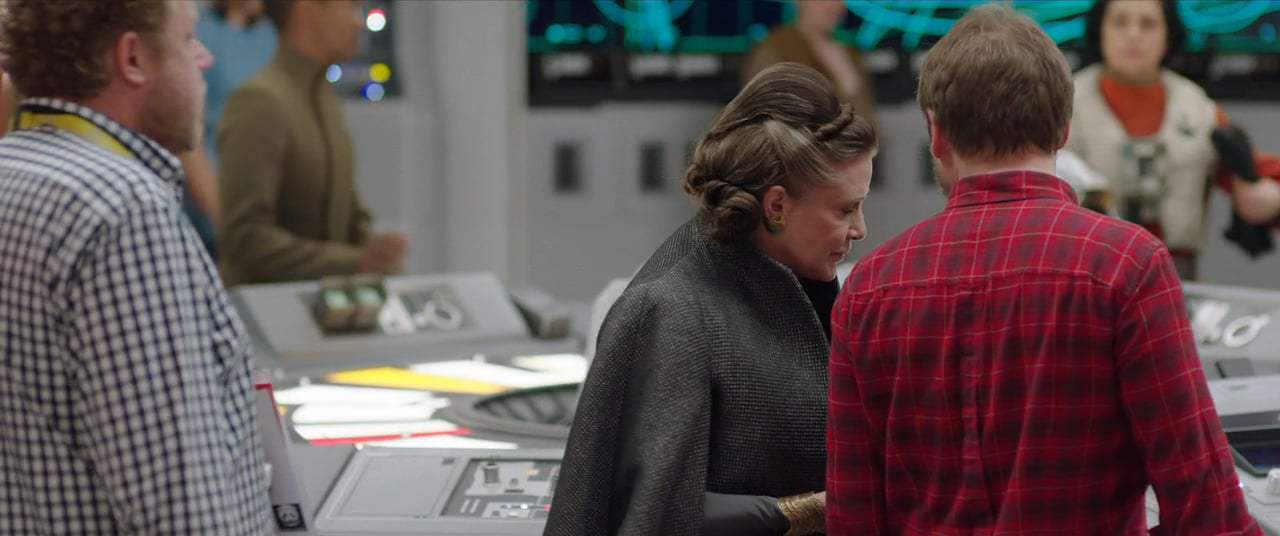 Star Wars: Episode VIII - The Last Jedi Featurette - Poe and Leia (2017)