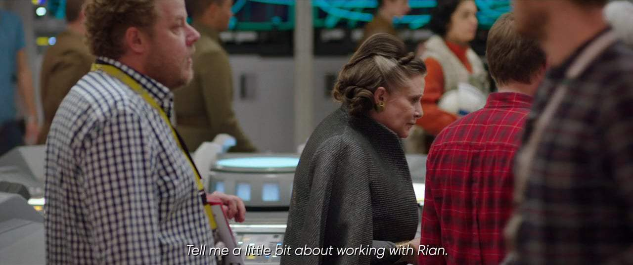 Star Wars: Episode VIII - The Last Jedi Featurette - Rian and Carrie (2017)