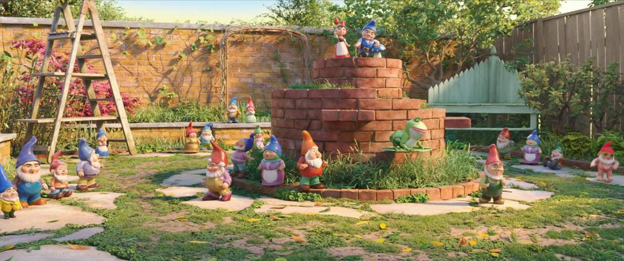 Sherlock Gnomes (2018) - All the Adventures