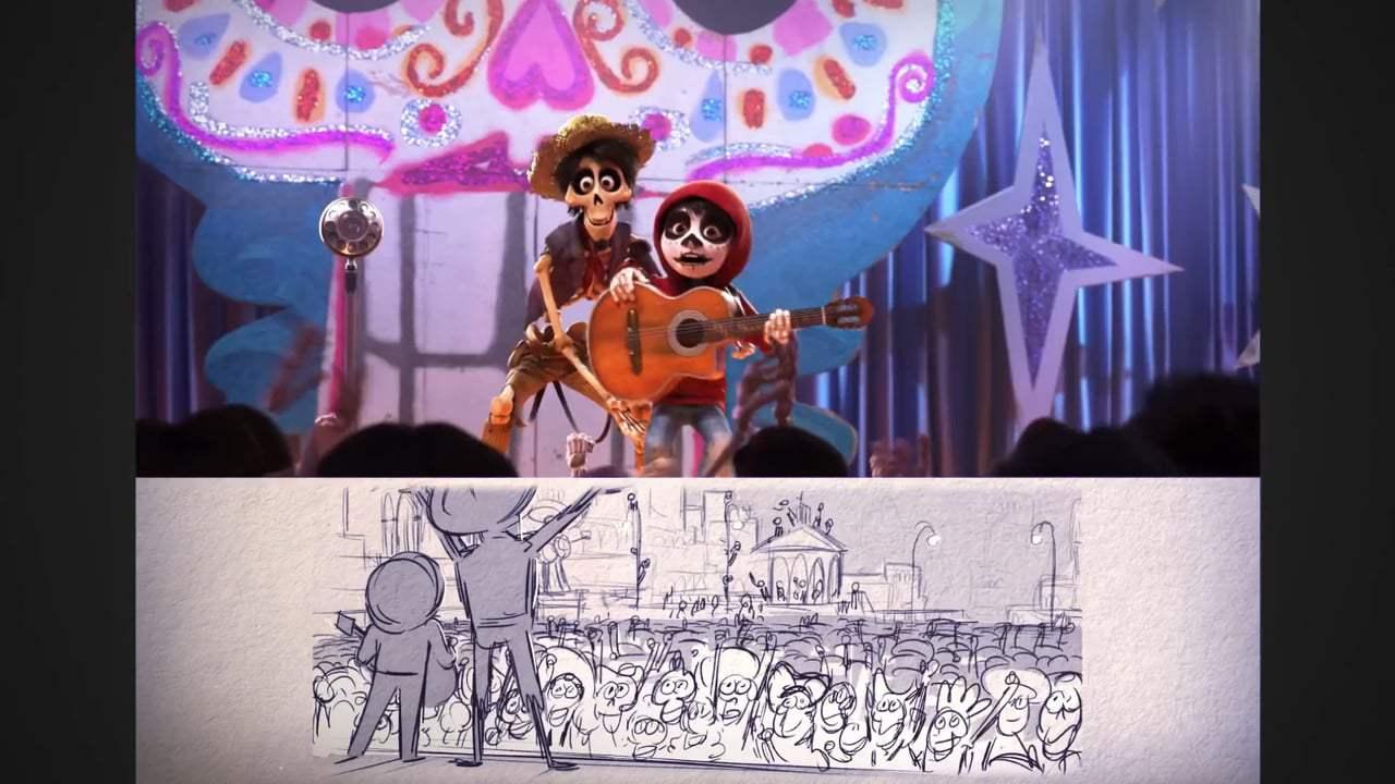Coco Featurette - From Script to Screen: Un Poco Loco (2017)