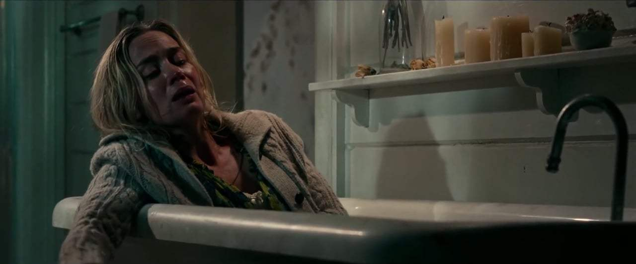 A Quiet Place (2018) - Bathtub