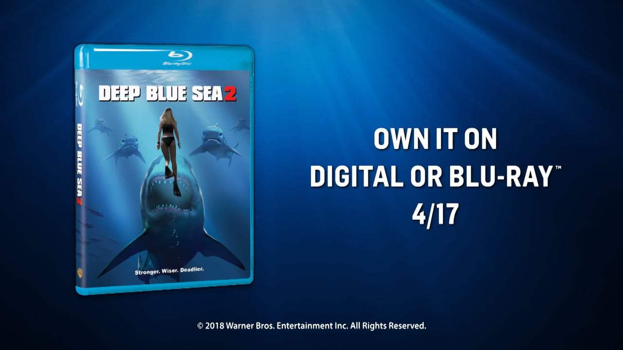Deep Blue Sea 2 (2018) - The First Rule