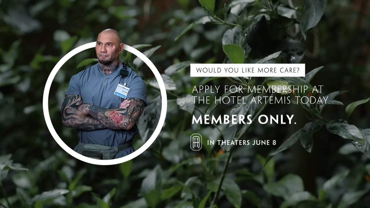 Hotel Artemis Viral - Dave Bautista's Tips for Peaceful Breathing (2018)