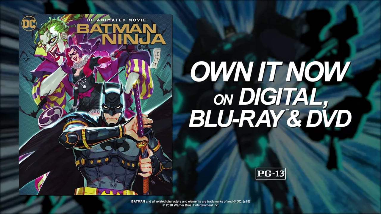 Batman Ninja (2018) - Sword Fight