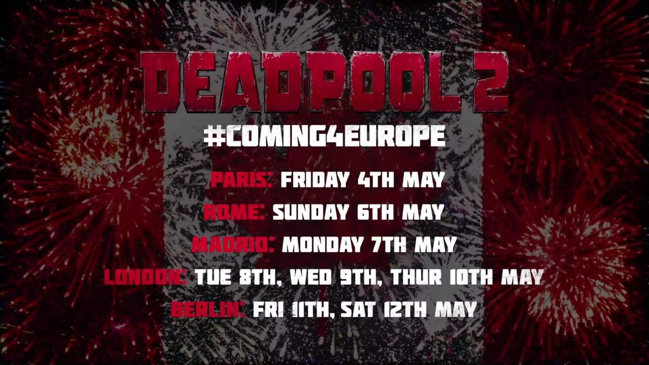 Deadpool 2 Viral - Eur Missing a Country (2018)