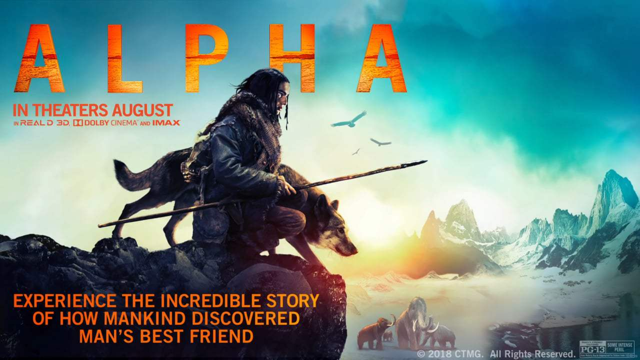 Alpha Theatrical Trailer (2018)
