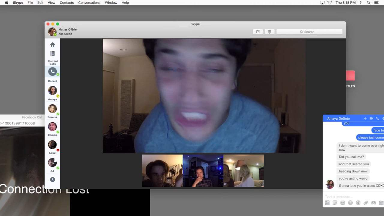 Unfriended: Dark Web TV Spot - Warning (2018)