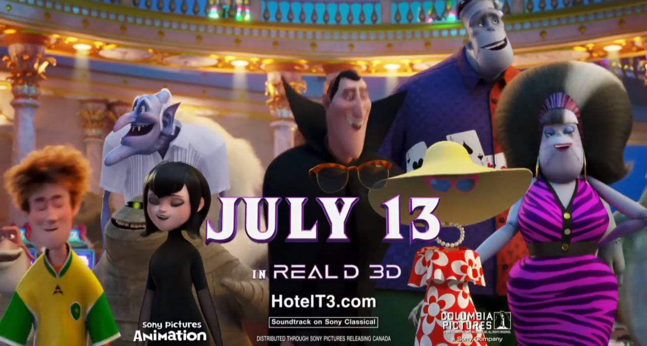 Hotel Transylvania 3: Summer Vacation TV Spot - Summer Vacation (2018)