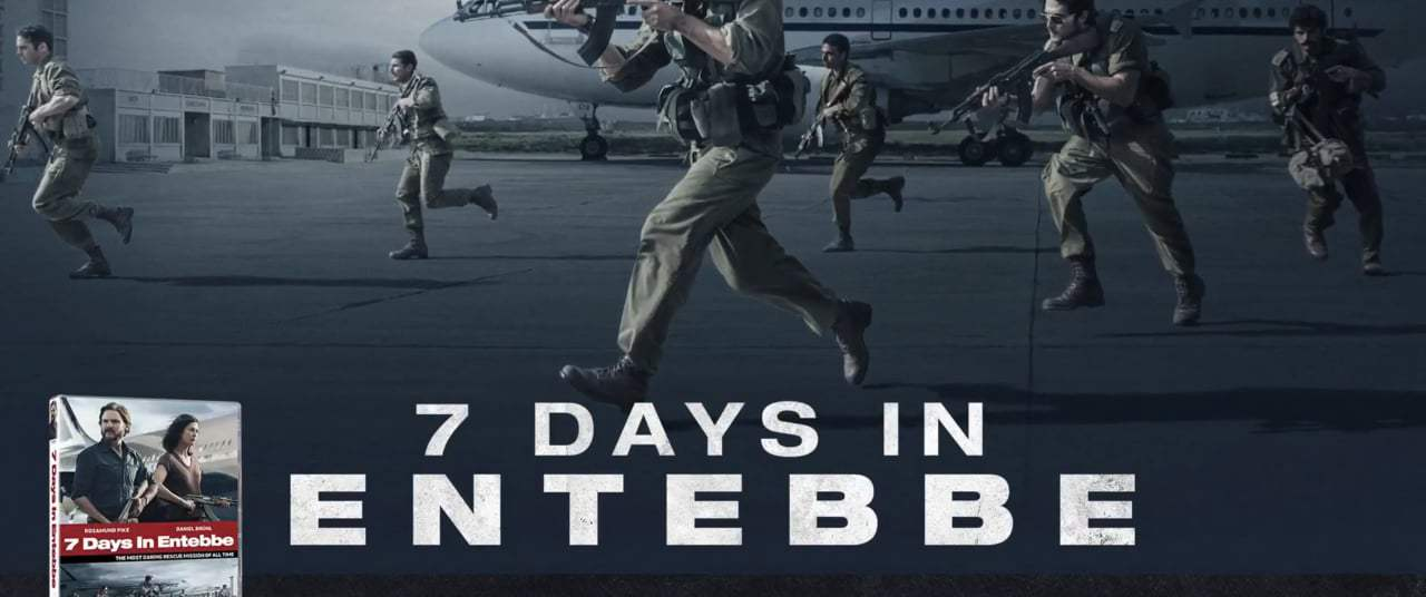 7 Days in Entebbe TV Spot - On Blu-Ray (2018)