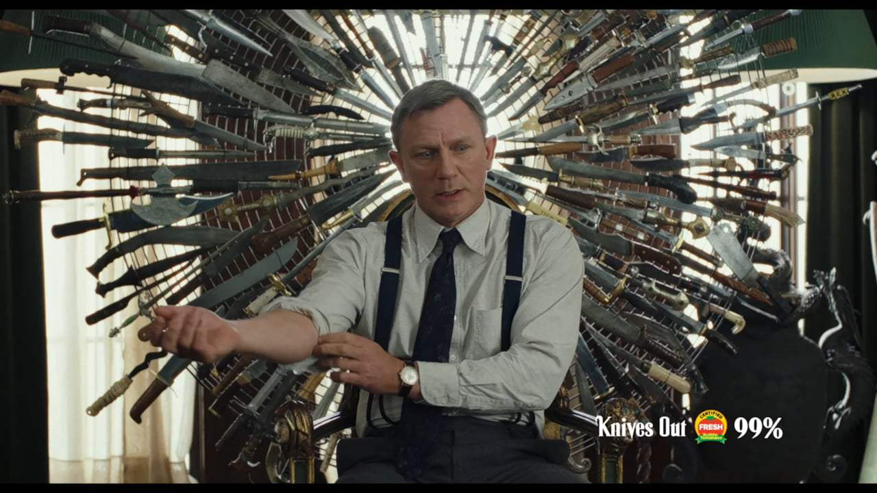Knives Out TV Spot - Who Hired You? (2019)