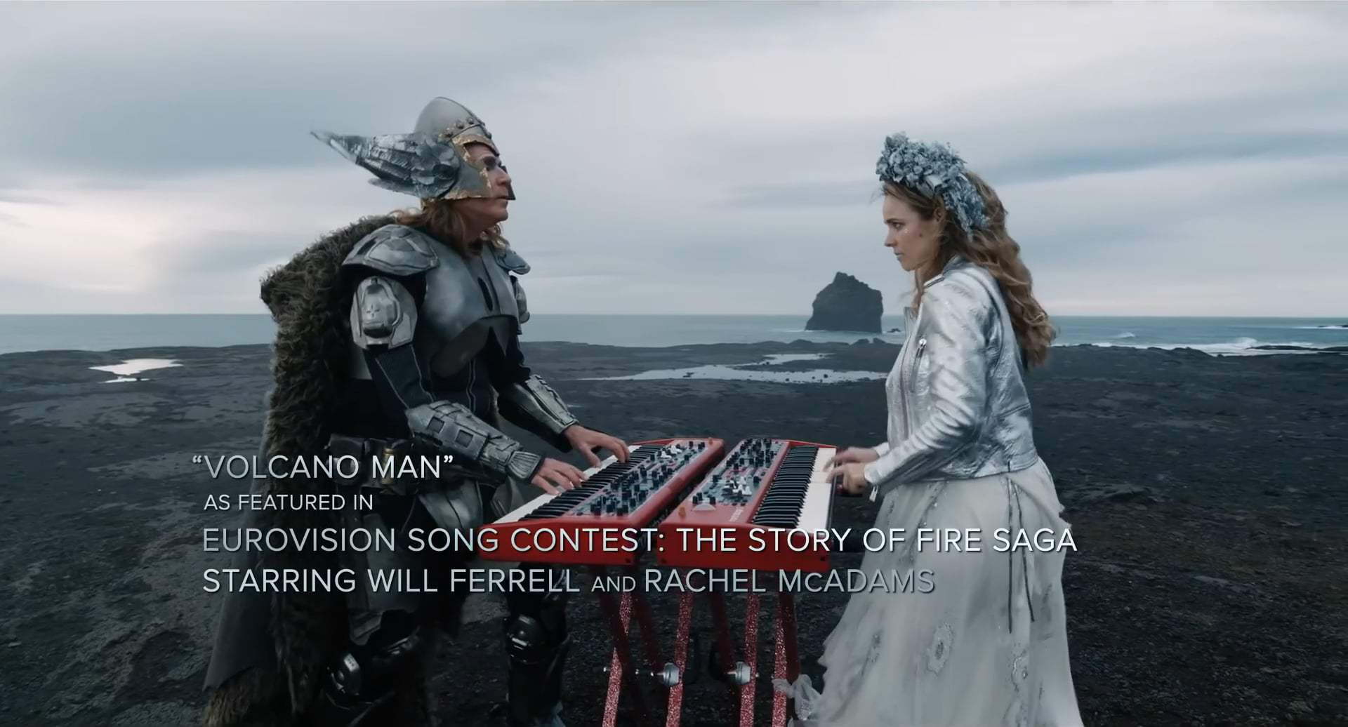Eurovision Song Contest: The Story of Fire Saga Volcano Man Trailer (2020)