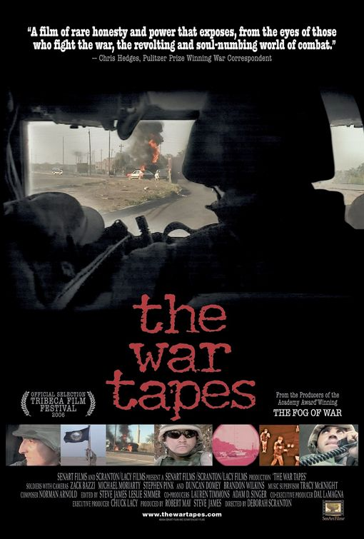 The War Tapes Poster #1