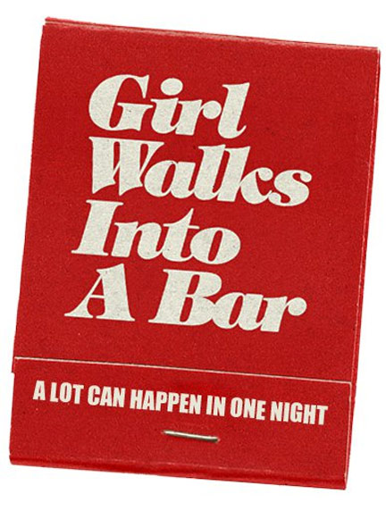 Girl Walks Into a Bar Poster #1