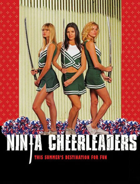 Ninja Cheerleaders Poster #2