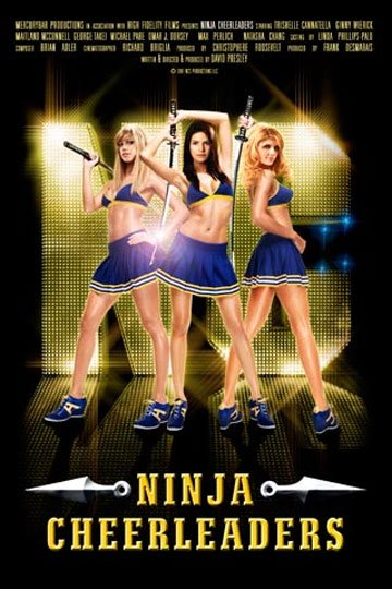 Ninja Cheerleaders Poster #1
