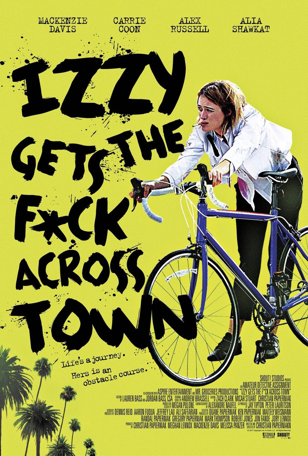 Izzy Gets the F*ck Across Town Poster #1
