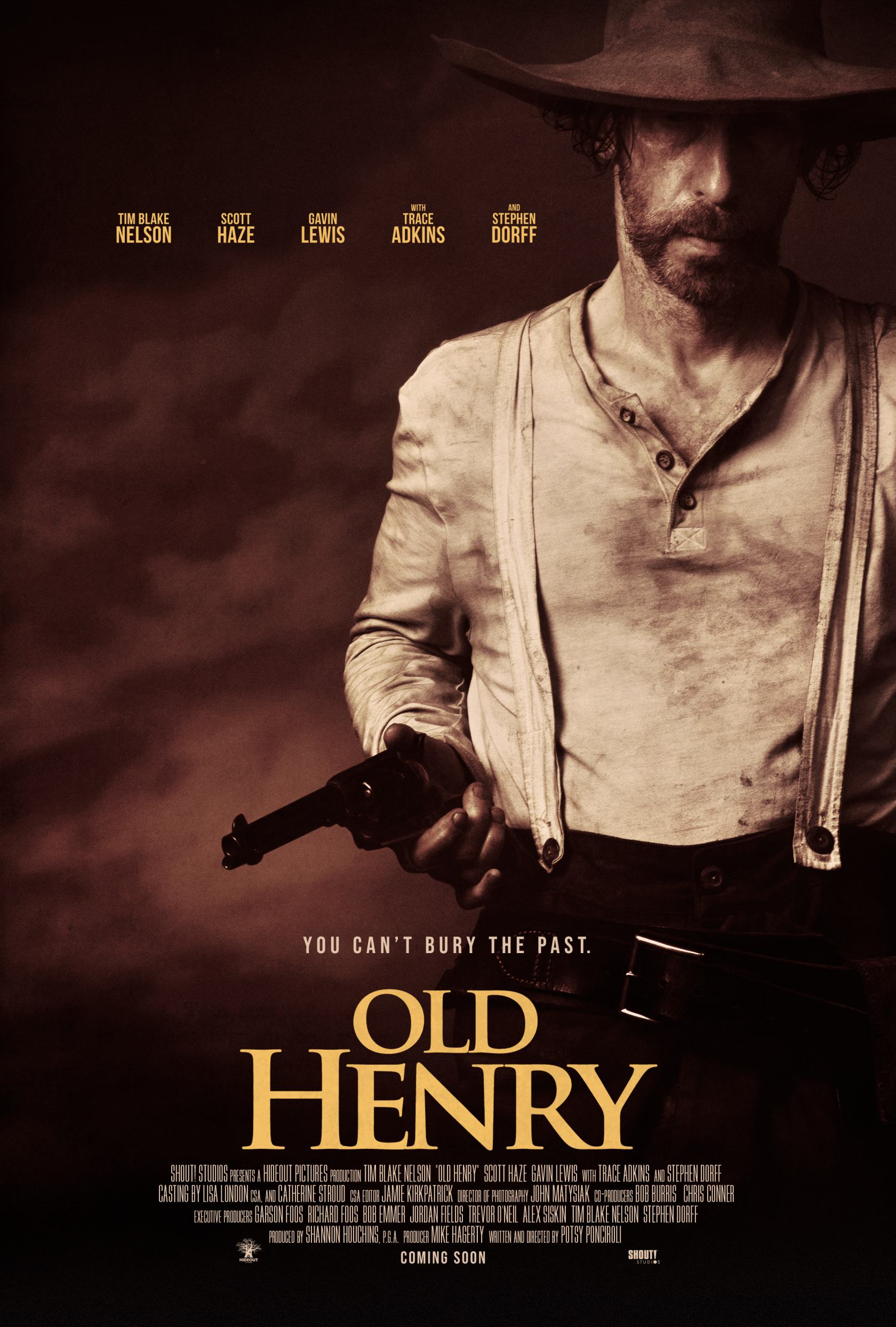 Old Henry Poster #1