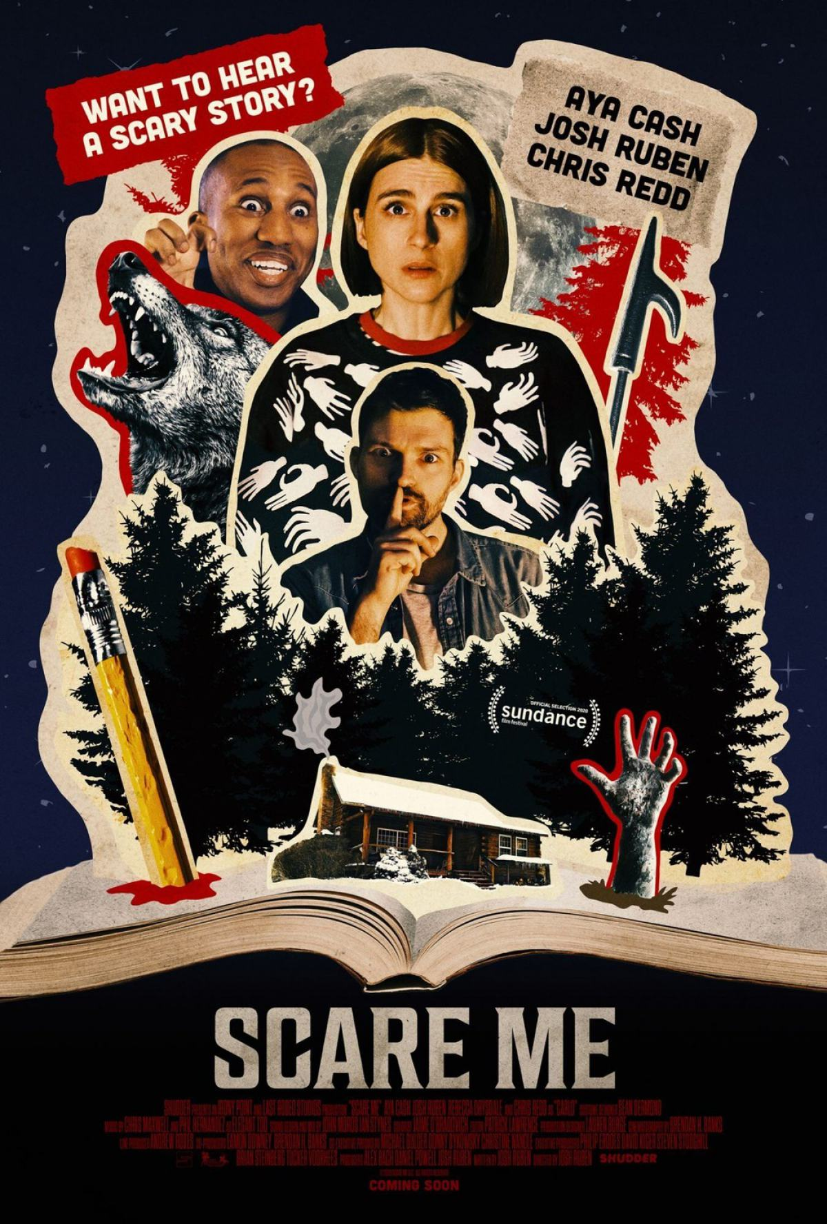Scare Me Poster #1