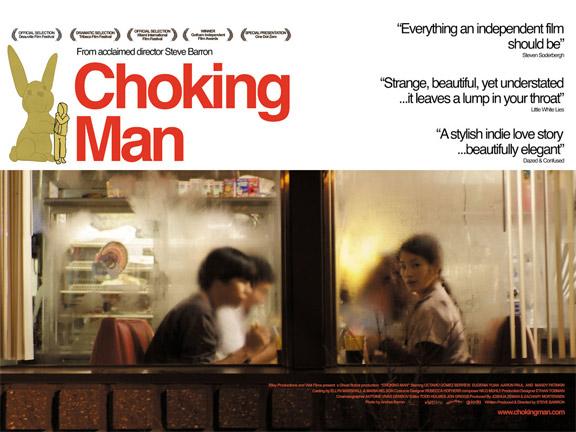 Choking Man Poster #2